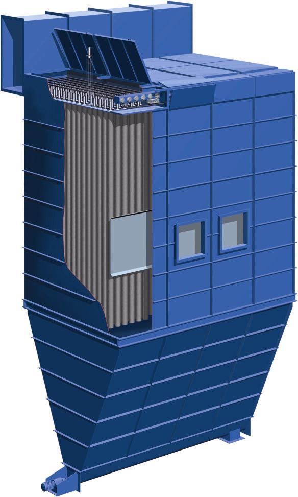 Prinzip-Darstellung der Jetpulse-Filtertechnik